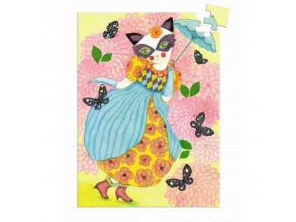 DJECO Mini puzzle  - Slečna Tygřice 60 dílků