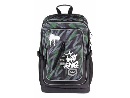 Školní batoh Cubic Street King
