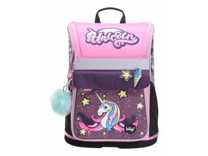 BAAGL Školní aktovka Zippy Unicorn