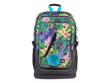 Školní batoh Cubic Tropical