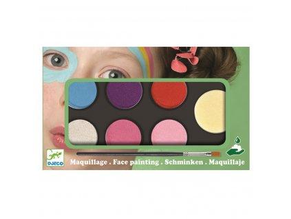 DJECO Barvy k malování na obličej - sladké odstíny