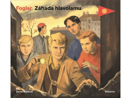 ALBATROS Záhada hlavolamu (audiokniha pro děti) - Jaroslav Foglar