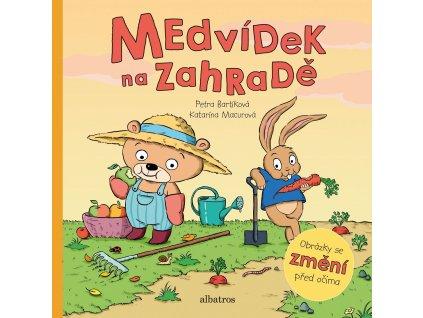 ALBATROS Medvídek na zahradě - Petra Bartíková