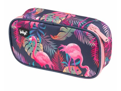BAAGL Penál etue Flamingo