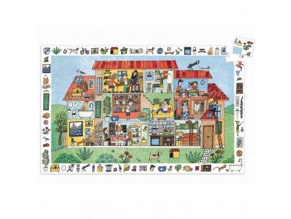 DJECO Vyhledávací puzzle - Domov