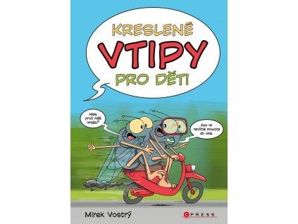 CPRESS Kreslené vtipy pro děti - Mirek Vostrý