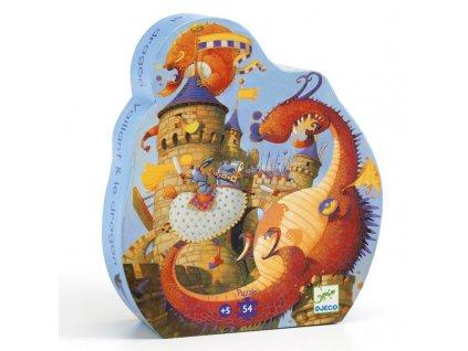 DJECO Puzzle - Dračí bitva