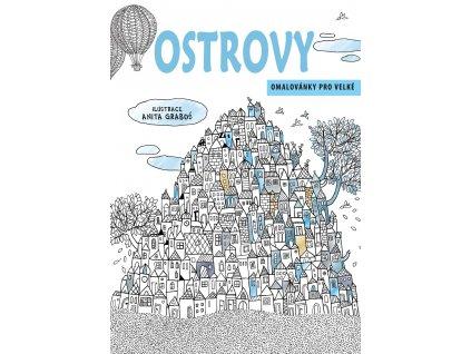 CPRESS Ostrovy - omalovánky pro velké - Anita Graboś