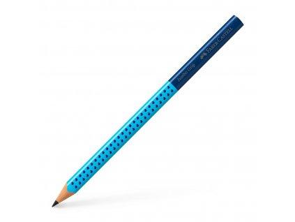 Grafitová tužka GRIP JUMBO TwoTone B (2) - modrá