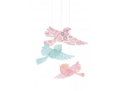 DJECO Závěsná dekorace - Ptáčci