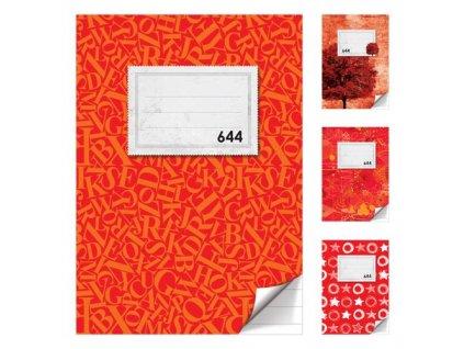 Sešit A6, 40 listů - linkovaný 644