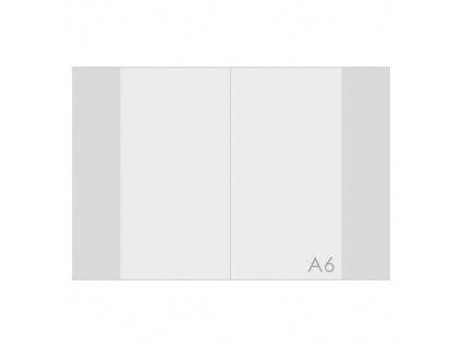 Obal na sešit A6 PP silný transparentní 1ks