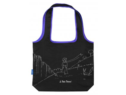 BAAGL Skládací nákupní taška Malý Princ (Le Petit Prince)