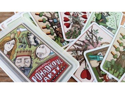 KRESLÍKÁRNA Pohádkové mariášové karty