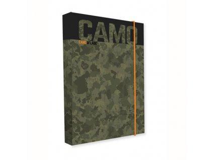 Box na sešity A4 Jumbo Camo