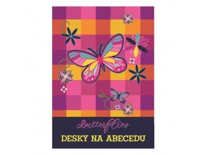 Desky na abecedu Butterflies