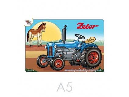 Omalovánky - Traktory