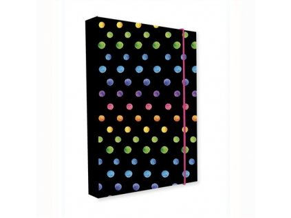 Box na sešity A5 Jumbo Dots Colors