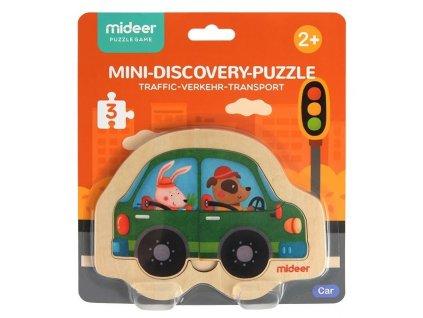 mideer Puzzle mini - Auto