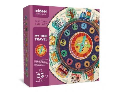 mideer Puzzle - Moje cestování v čase