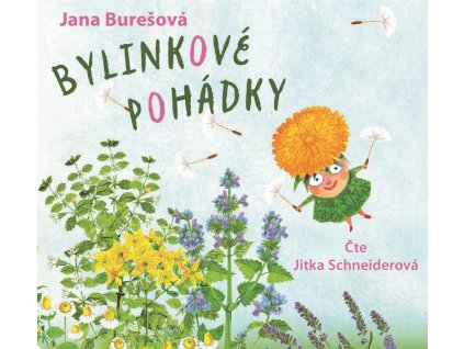 CPRESS Bylinkové pohádky (audiokniha pro děti) - Jana Burešová