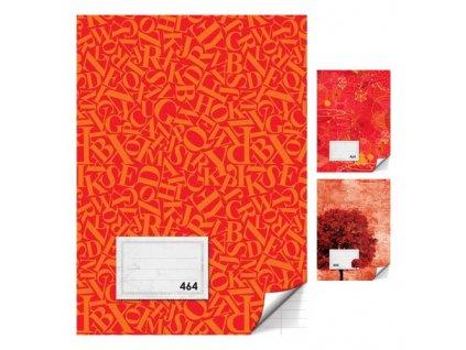 Sešit A4, 60 listů - linkovaný 464