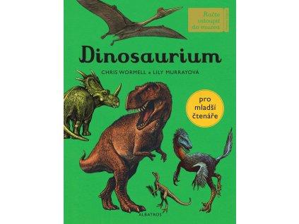 ALBATROS Dinosaurium - pro mladší čtenáře - Lily Murray