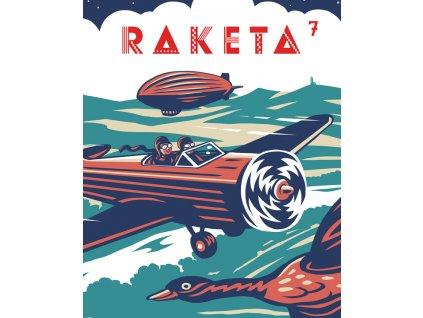 LABYRINT RAKETA č. 07 / Létání