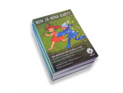 Junák Ben Já Mína karty
