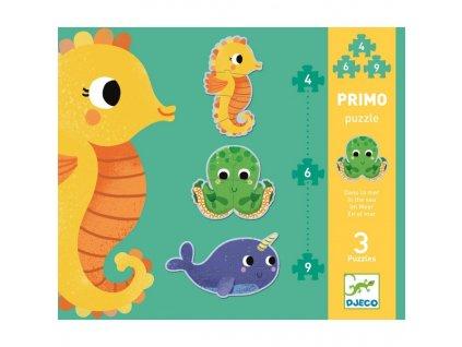 První puzzle - Pod mořem