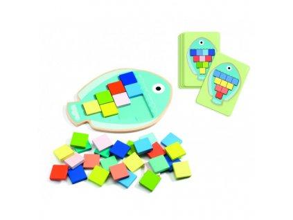 Hra mozaika - Ryba