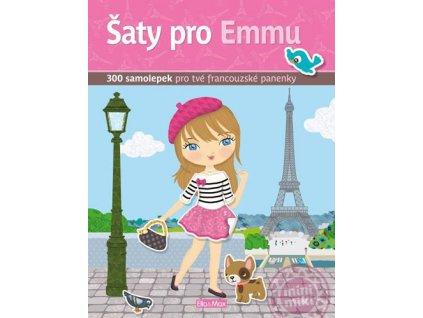 Šaty pro Emu - kniha samolepek