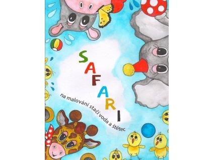 Vodové omalovánky - Safari