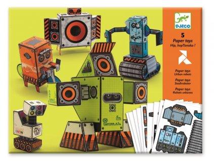 Origami skládačka - Roboti