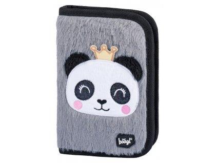 Školní penál klasik dvě chlopně Panda