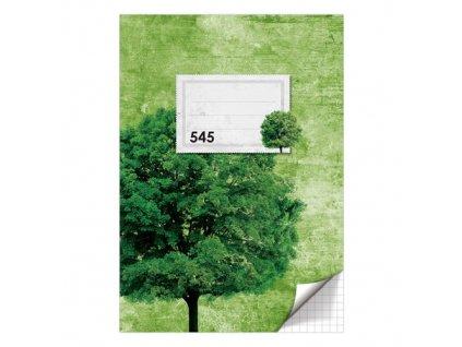 Sesit A5 40 listu ctvereckovany 545