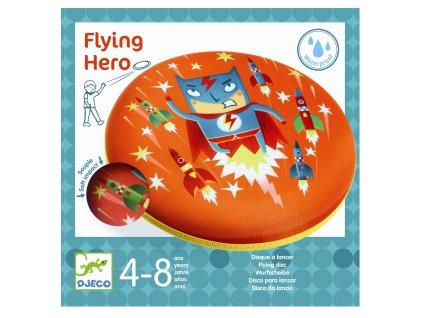 Létající talíř - Superhrdina