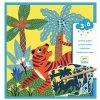 Vyškrabávací obrázky - Zvířata v džungli