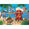 Puzzle - Pirát a jeho poklad