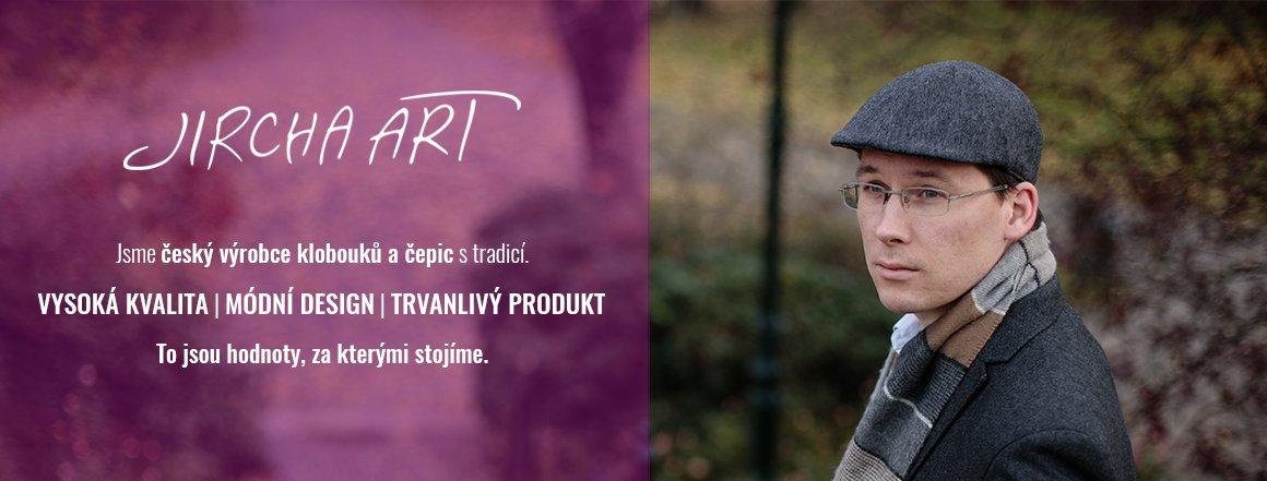 Jsme Český výrobce ručně šitých klobouků a čepic Jircha Art
