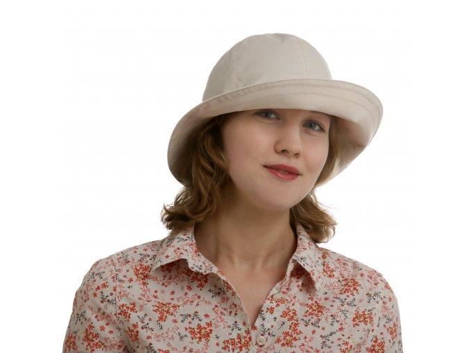 Šestidílný bavlněný dámský klobouk