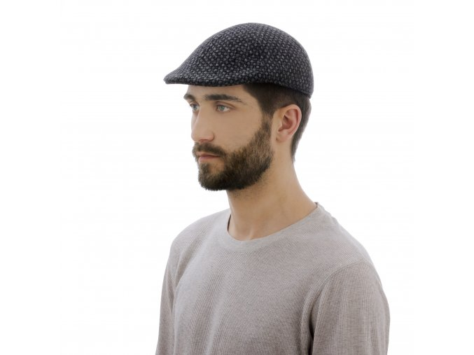 Módní vlněná pánská čepice