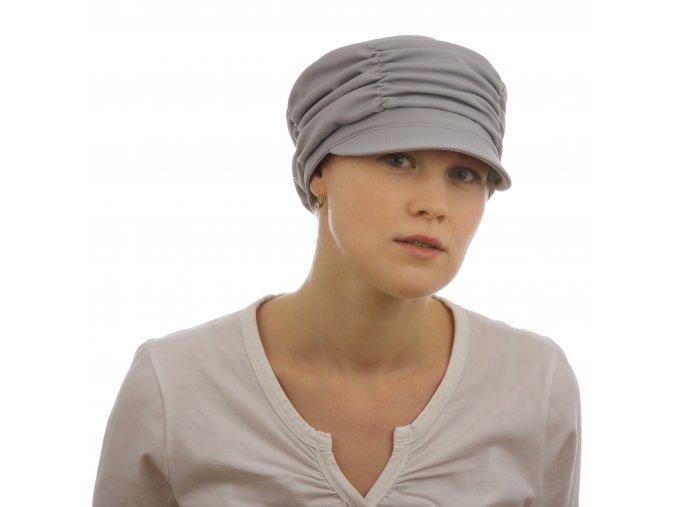 Moderní dámská kšiltovka ze softshellu