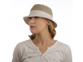 Béžový dámský sportovní klobouk