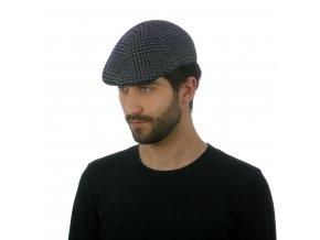Elegantní pánská čepice zvlněné látky