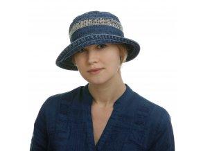 Riflový klobouk sozdobnou síťkou