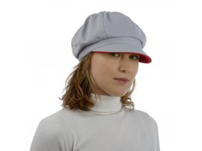 Softshellová kšiltovka s dvoubarevným kšiltem