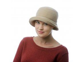Dámský klobouk pro zimní počasí s podšívkou