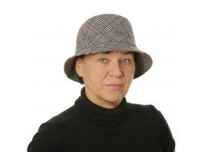 Dámský zimní klobouk esterházy
