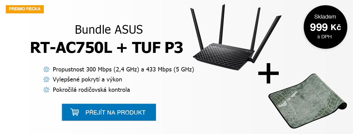 Bundle ASUS RT-AC750L + PAD P3